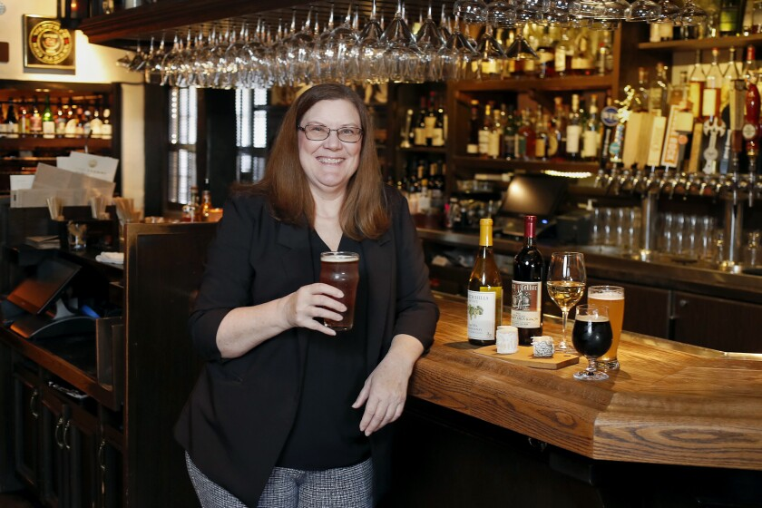 Tracy Nelsen is Five Crowns' restaurant manager and official cheesemonger, sommelier and cicerone.