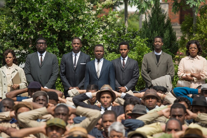 """A scene from the movie """"Selma,"""" which won the top film award at the NAACP Image Awards."""