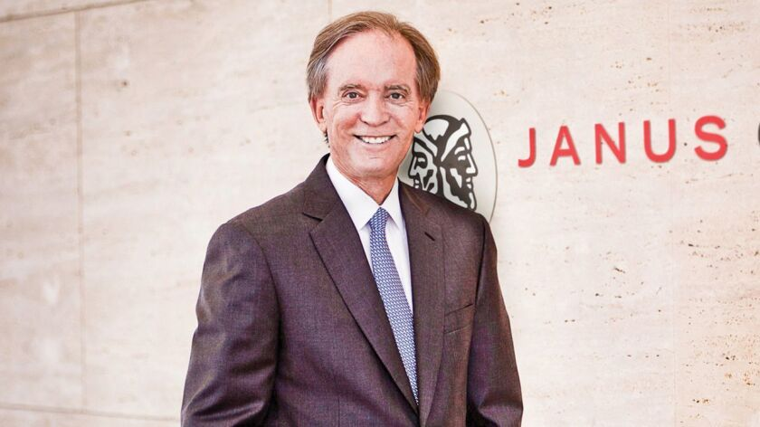 Bill Gross moved from Pimco to Janus in 2014.