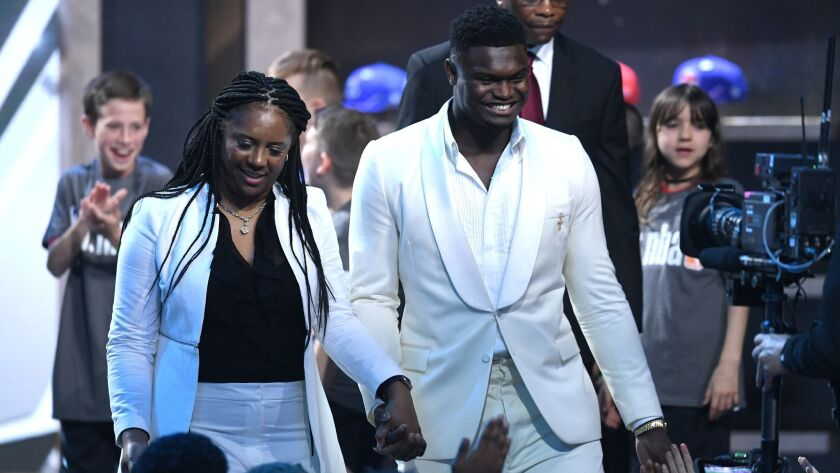 NBA draft: Zion Williamson is a sure bet to be league's next big