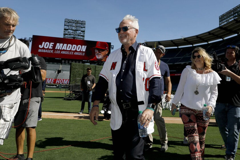 New manager Joe Maddon will be tasked with turning around the team in 2020.