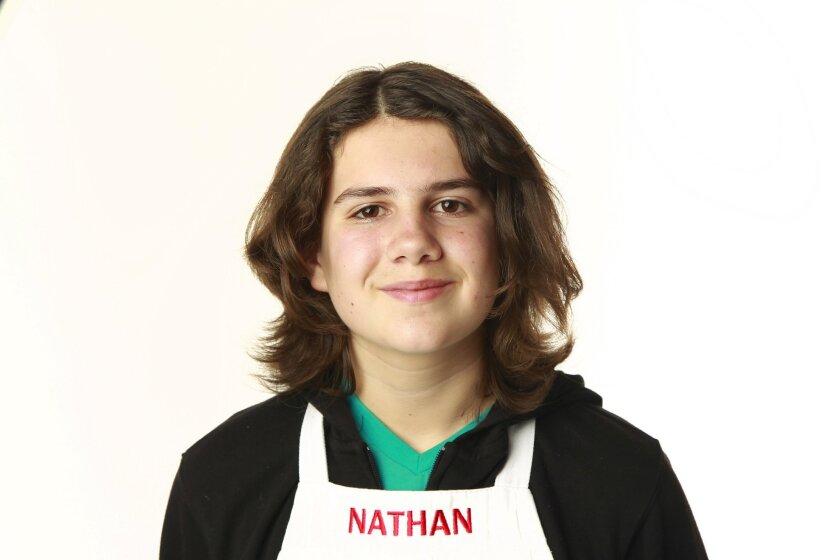 "Nathan Odom of ""MasterChef Junior"""