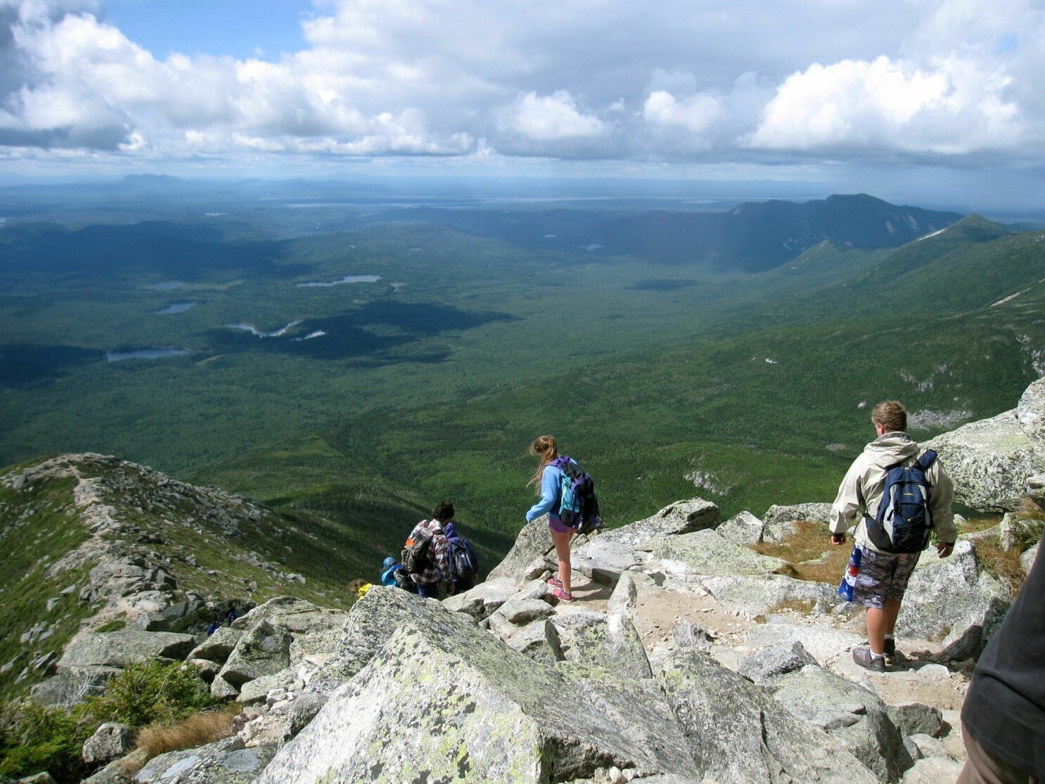 f8aba8463e279a Climbing Katahdin in Maine: This mountain's not for sissies - The San Diego  Union-Tribune