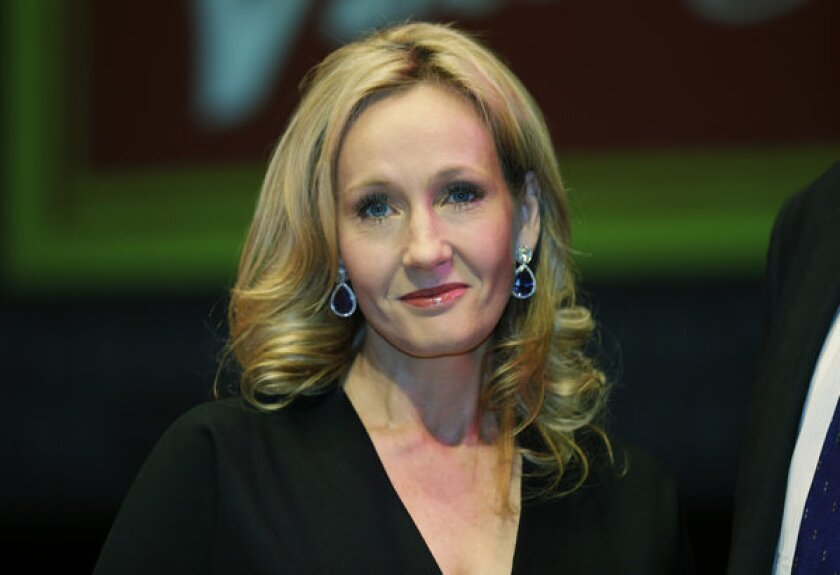 J.K. Rowling announced she will donate profits from her book written under the pseudonym Robert Galbraith to charity.