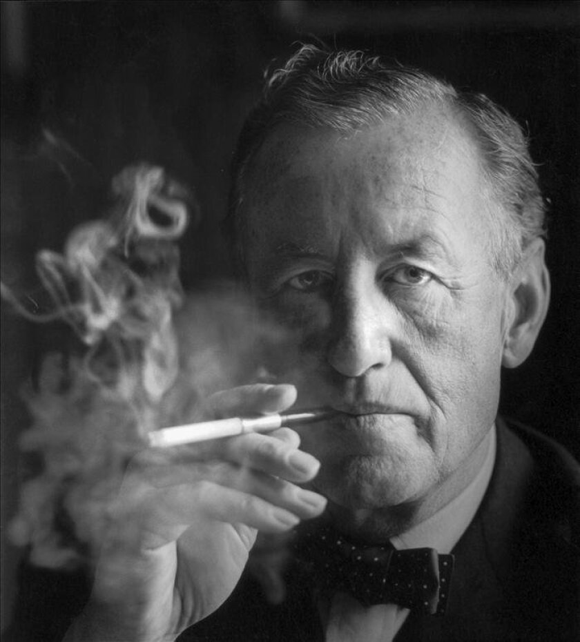This photo courtesy shows James Bond creator, Ian Fleming. Fiction's most famous spy, James Bond, had a connection in Portugal. His creator, Ian Fleming, was apparently inspired during his stay in the Iberian country by the espionage activities he witnessed during World War II, according to what different sources told EFE. EFE / Horst Tappe