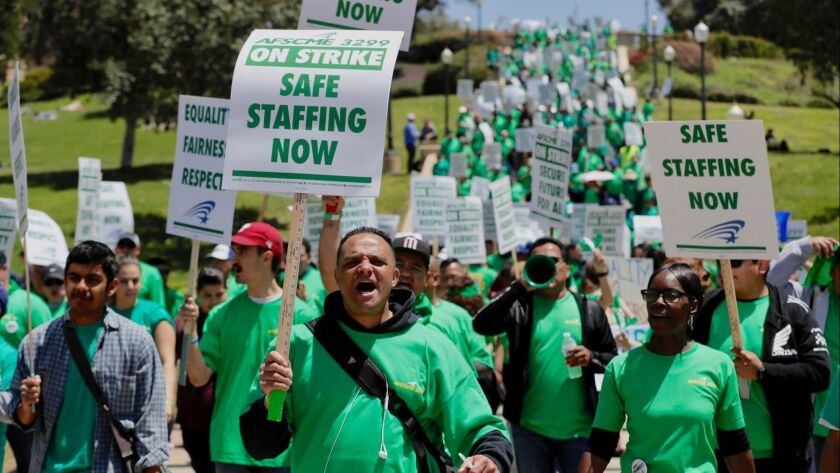 UC healthcare workers launch three-day strike over pay