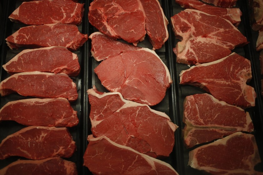 Meat can be eaten past the expiration date if you freeze it.