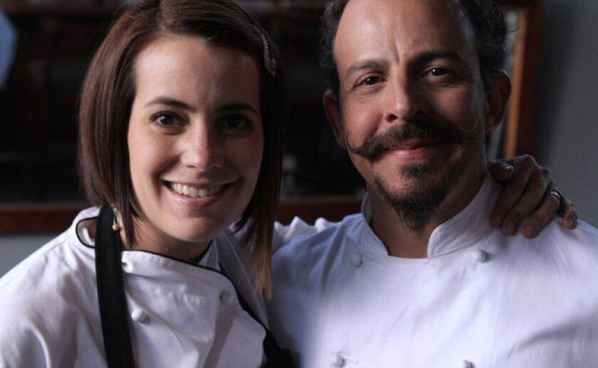 Solange Muris and her husband Benito Molina own the acclaimed Manzanilla Restaurant in Ensenada, Baja California.