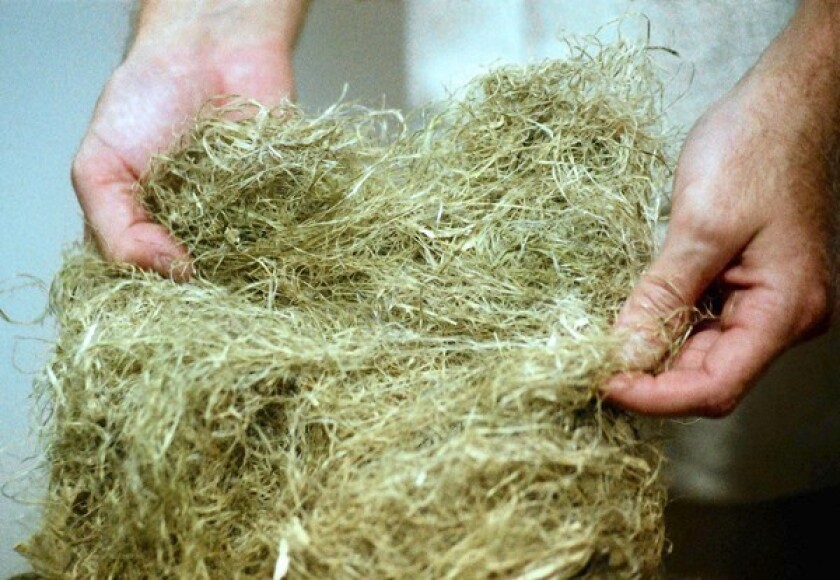 Hemp is prized for its durability.
