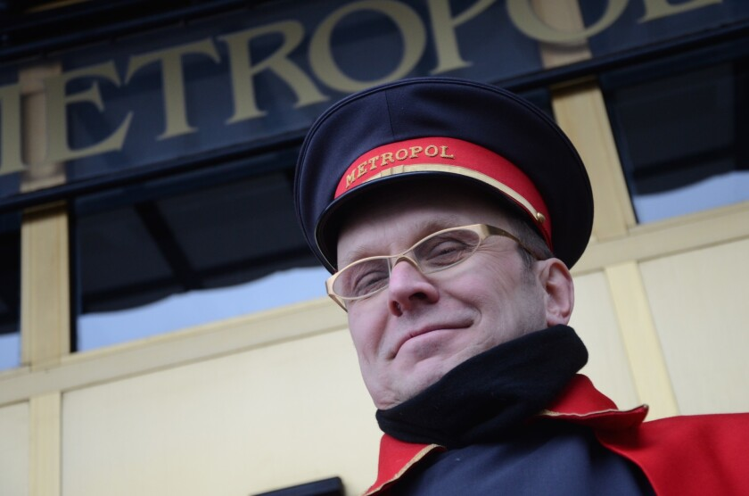 Russia: Out front at the Metropol