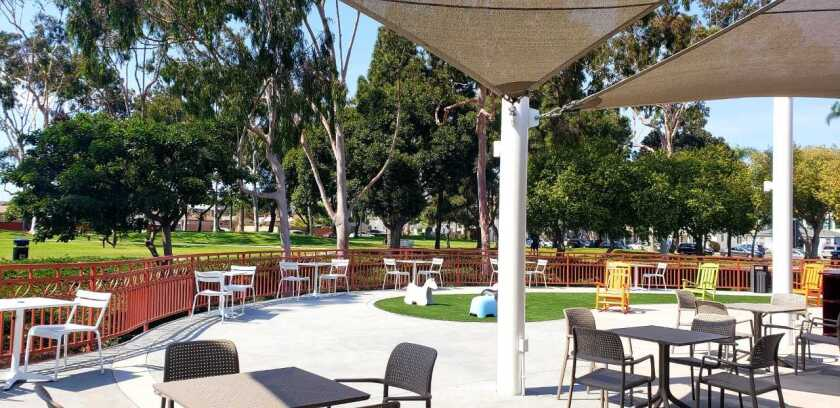 Chula Vista has opened a new viewing deck for recreational activities and events at the Civic Library in June 2021.