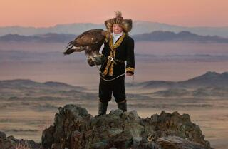'The Eagle Huntress' movie review by Kenneth Turan