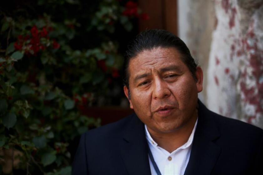 Álvaro Pop, secretario técnico del Fondo para el Desarrollo de los Pueblos Indígenas de América Latina y El Caribe (Filac). EFE/Archivo