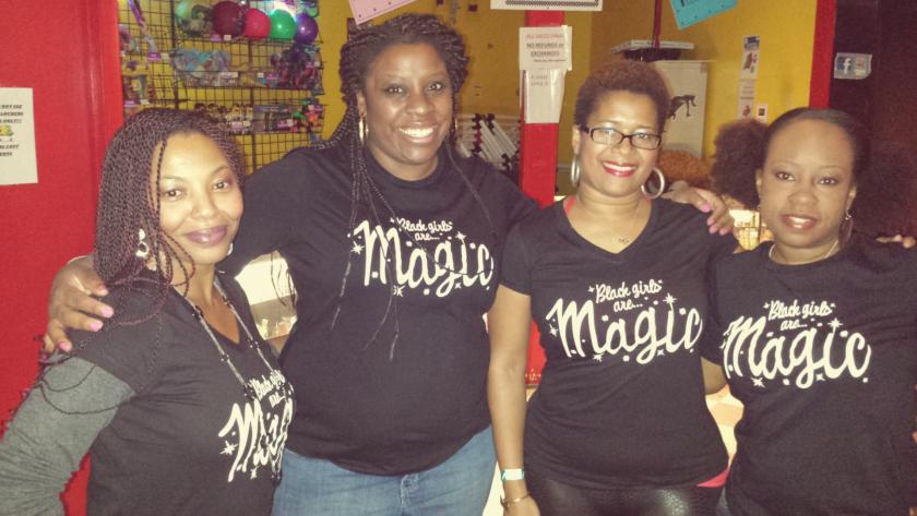 Black Girls are Magic Tees