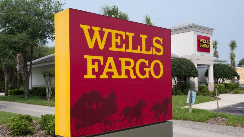 A California branch of Wells Fargo.