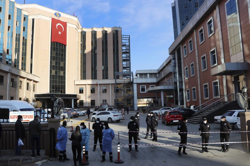Nine People Killed After Fire Breaks Out at ICU Treating Coronavirus Patients in Turkey