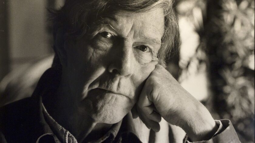 Composer John Cage in 1988 — recently the subject of a conference at Claremont College.