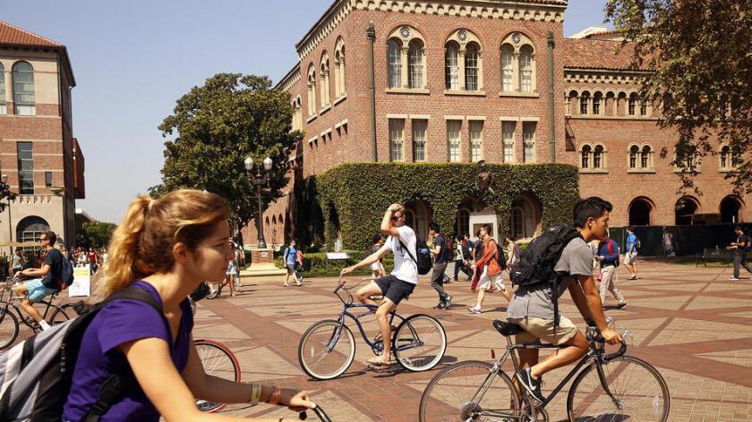 Foshay Learning Center envía más estudiantes a USC que cualquier otra preparatoria