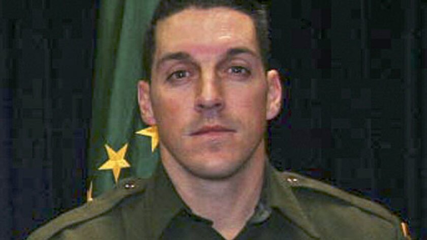 Slain Border Patrol agent Brian A. Terry