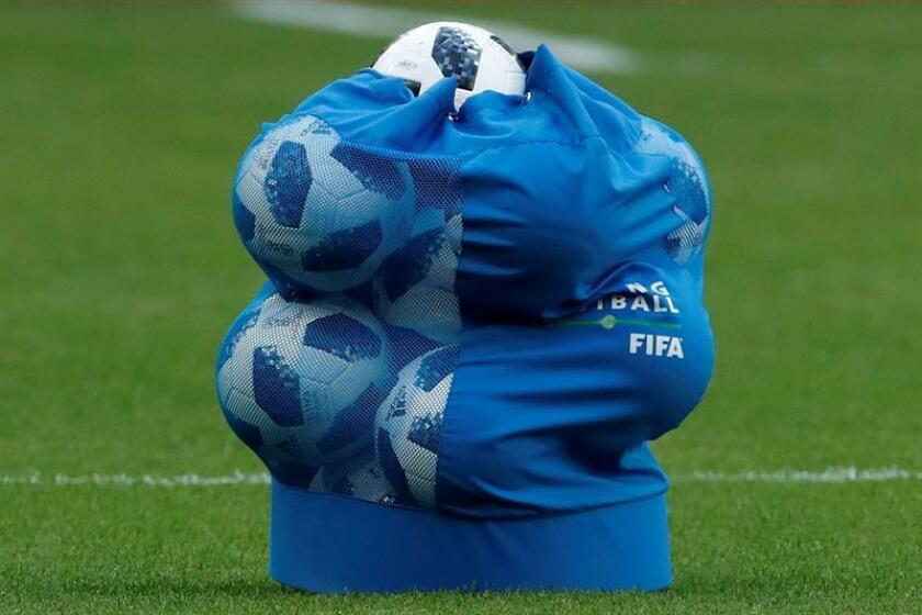 Balones de fútbol. EFE/Archivo