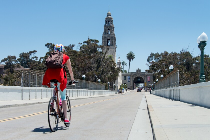 Biking in San Diego
