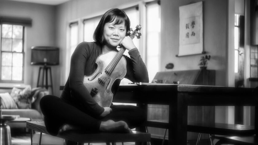 Violist Angela Choong is a member of the Hausmann Quartet, which continues its Haydn Voyages Series on May 6.