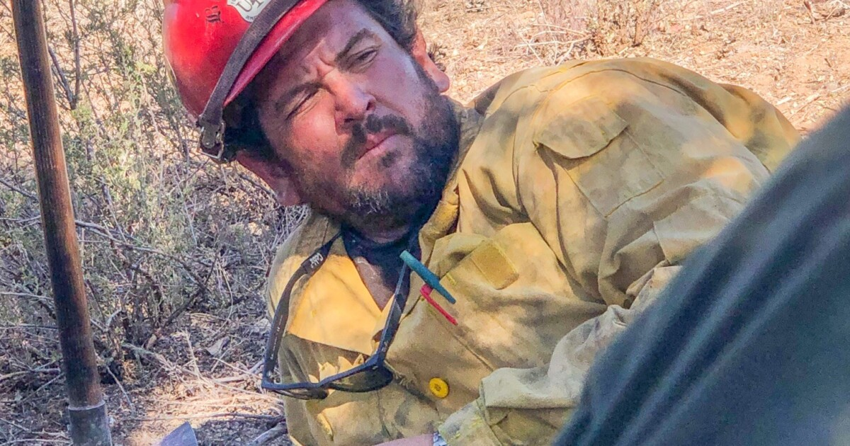 Firefighter appears to have been 'burned over' by El Dorado fire, Forest Service says