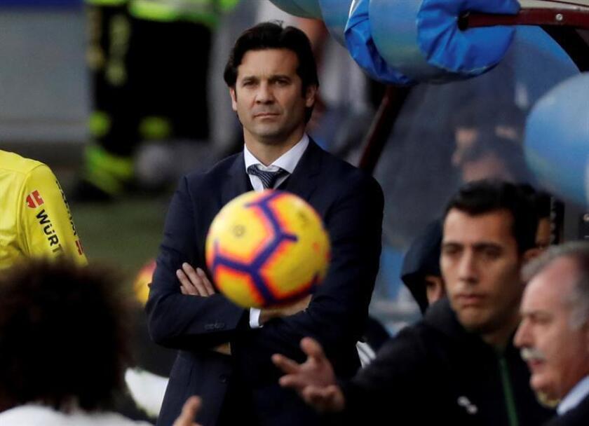 El entrenador argentino del Real Madrid, Santiago Solari. EFE/Archivo