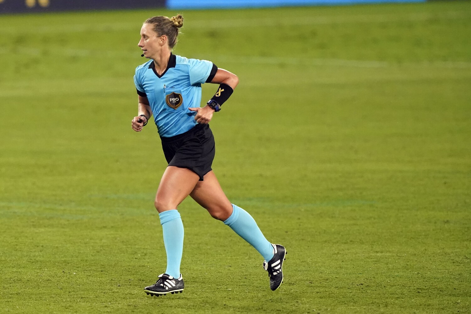 MLS referee Tori Penso controls the game and inspires others
