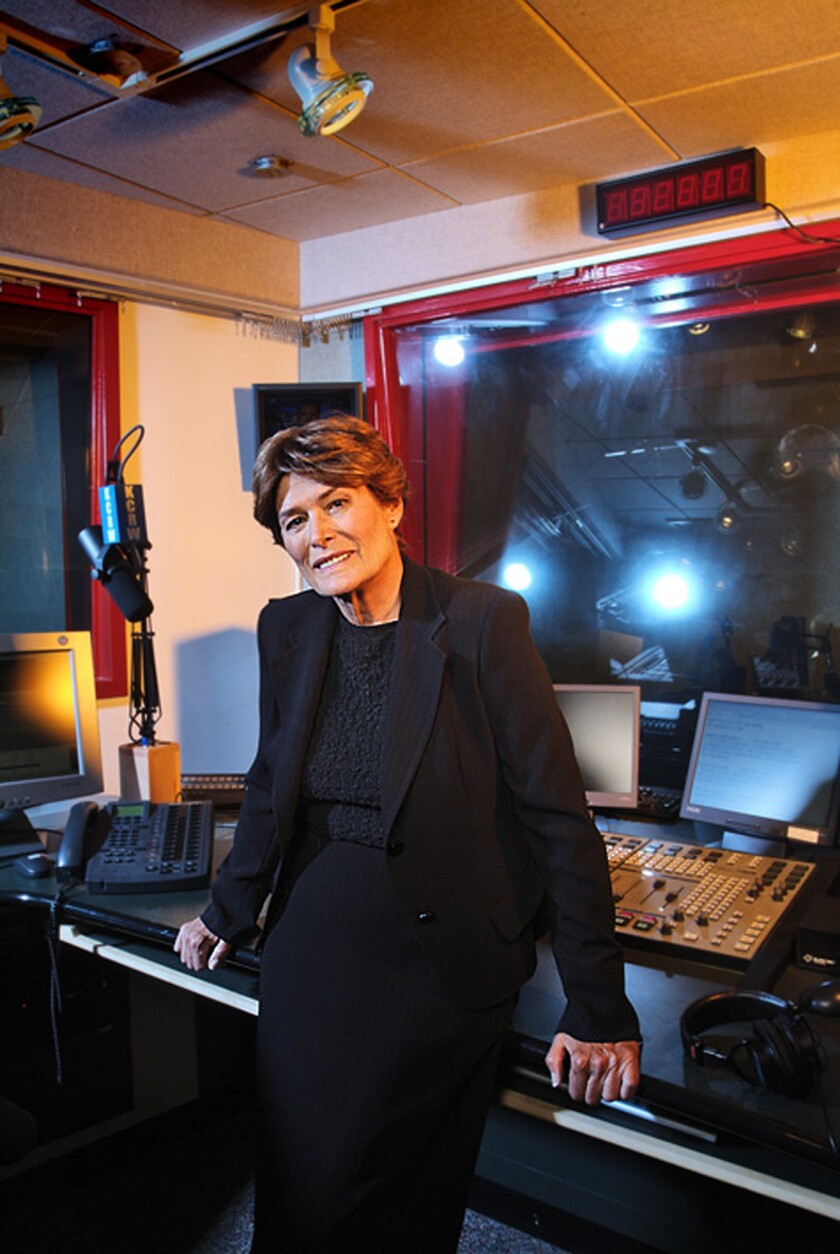Ruth Seymour, general manager of KCRW.