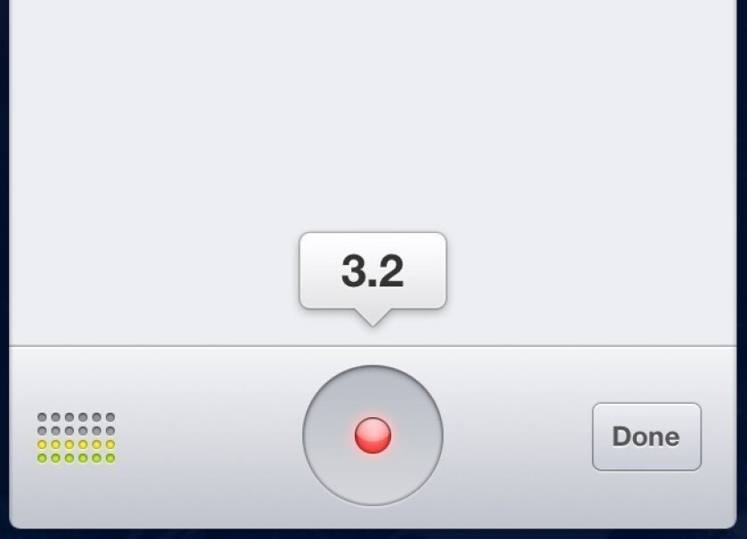 Facebook iOS app update adds voice messaging, video recording