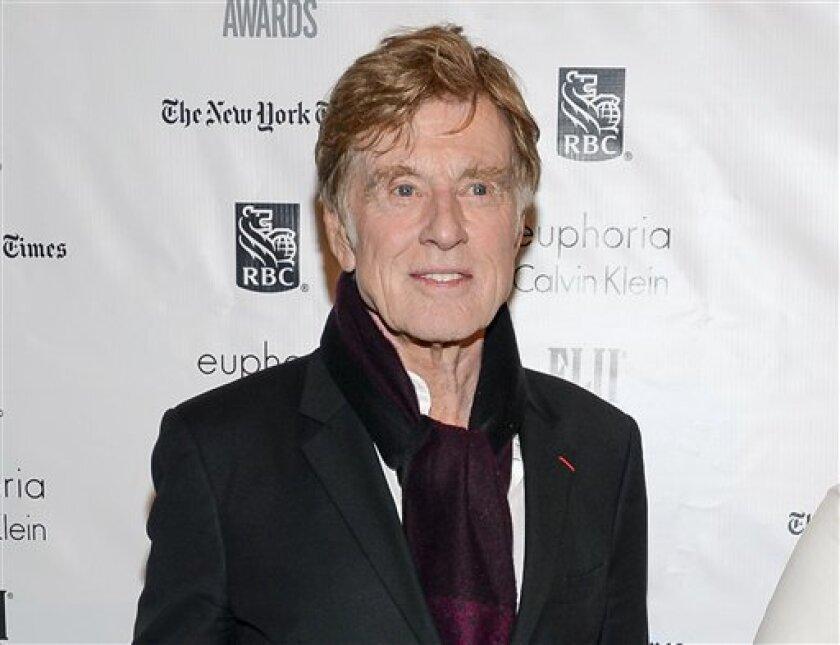 El intérprete y director estadounidense Robert Redford anunció en una entrevista su intención de dejar la actuación tras culminar dos proyectos en los que se encuentra involucrado en estos momentos.