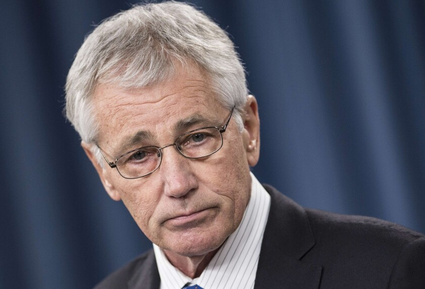 Defense Secretary Chuck Hagel, a former Republican senator and Vietnam War Army sergeant, got his turn as defense secretary at an unenviable moment: a period of shrinking budgets, when tough choices among priorities can't be dodged.