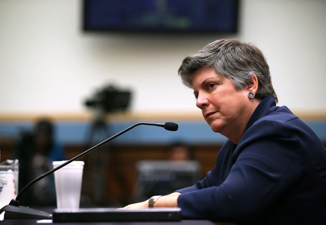 Secretary of Homeland Security Janet Napolitano announced her resignation in July 2013, intending to serve as president of the University of California system. She had served at her post since 2009, and previously was governor of Arizona from 2003 to 2009.