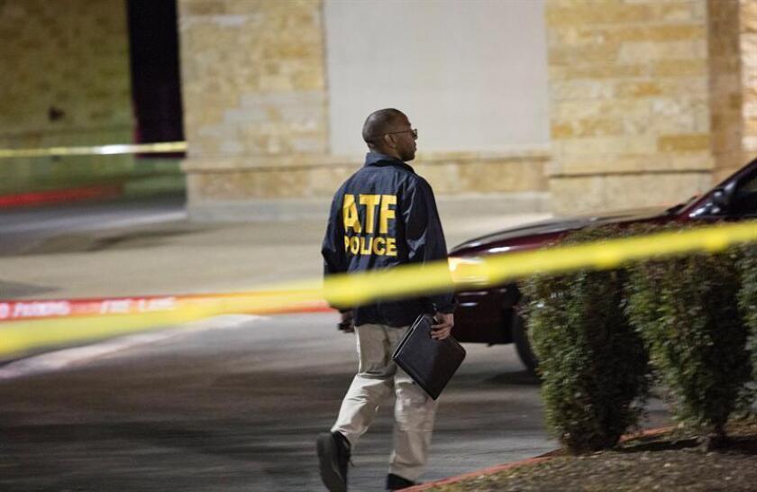 Una persona sospechosa de estar relacionada con las cinco bombas que explosionaron este mes en Austin, en las que fallecieron dos personas, ha muerto tras una operación policial, según informan medios locales. EFE/Archivo