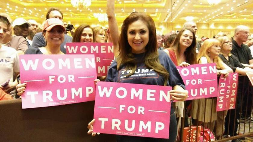 Jazmina Saavedra, residente en el Sur de California, se involucró por primera vez en una campaña política para defender sus valores.