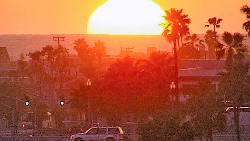 Mariner's Mile at sunset
