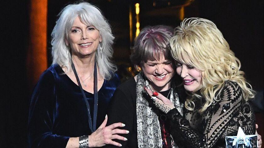 seleziona per ufficiale scarpe esclusive economico in vendita Review: Dolly Parton reunites with Linda Ronstadt, Emmylou Harris ...