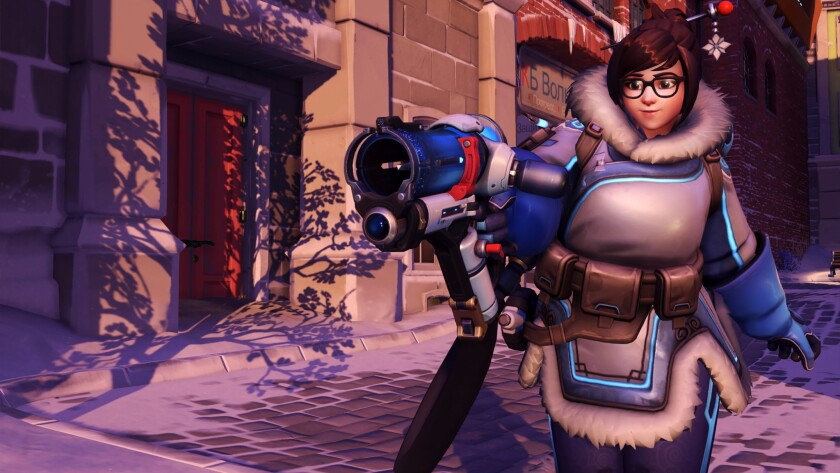 """Mei in """"Overwatch"""" is far from the typical character found in first-person shooters."""