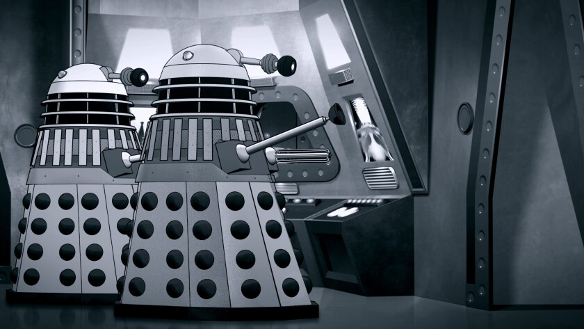 "Long-lost ""Doctor Who"" serial ""The Power of the Daleks"" is reconstructed as an animated episode."
