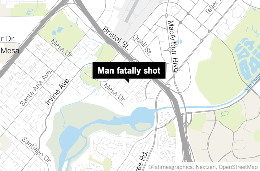 A man was found dead in the 20000 block of Orchid Street in Newport Beach on Thursday night.