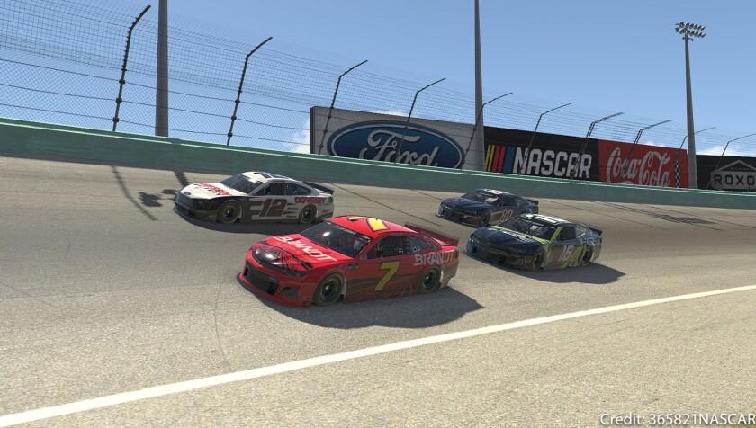 Racing on the high banks