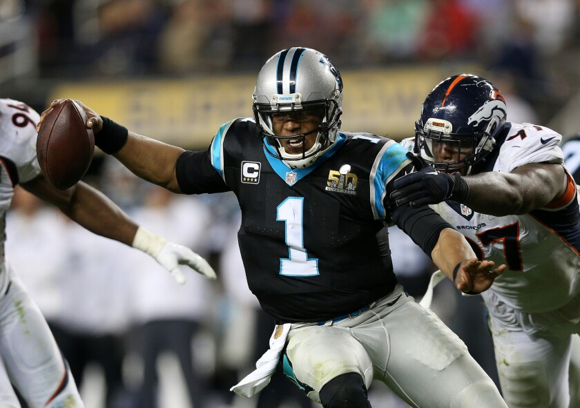 Cam Newton has little to say after Super Bowl 50 loss