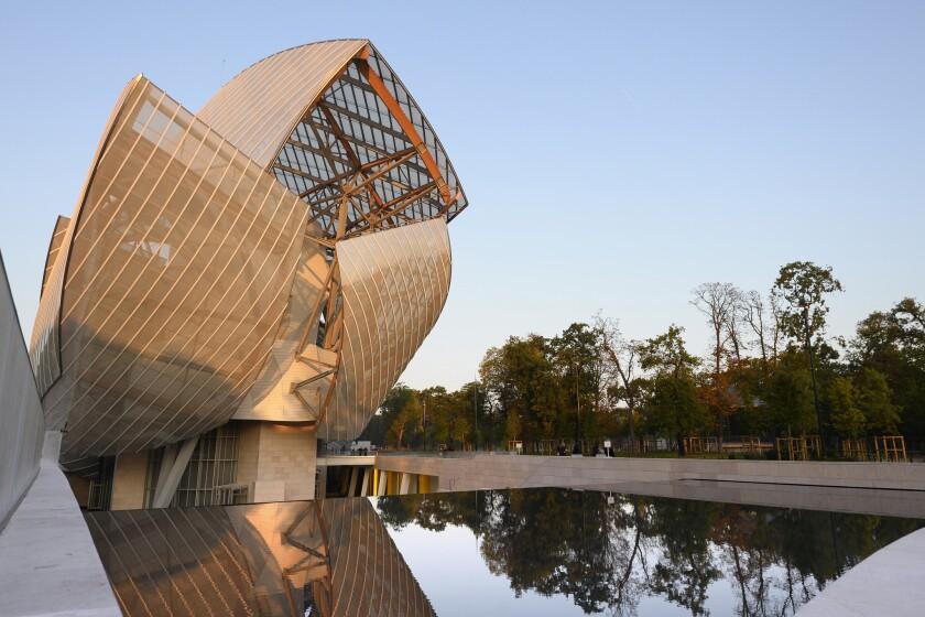 Louis Vuitton Foundation museum
