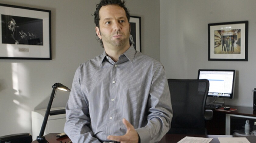 Live Nation Chief Executive and President Michael Rapino.