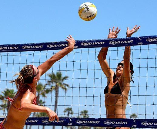 Huntington Beach volleyball tournament