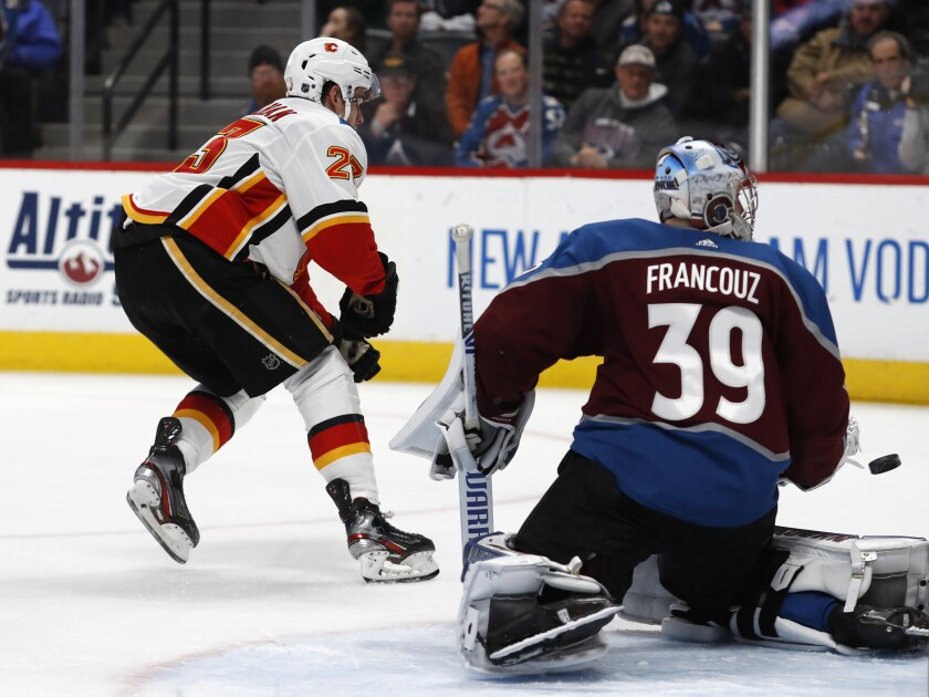 Flames Avalanche Hockey