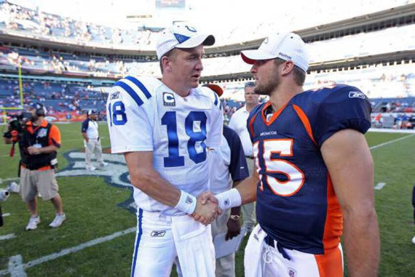 With Peyton Manning headed to Broncos, what happens to Tim Tebow?