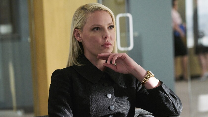 "Katherine Heigl joins the cast of ""Suits"" on USA."