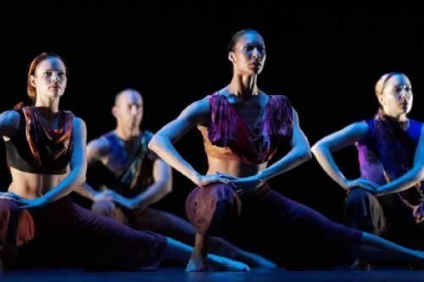 'Fathom' is one of two pieces Malashock Dance will perform at Birch north Park theatre, March 8 and 9. Courtesy